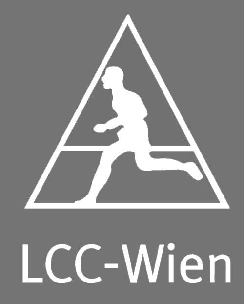 LCC-Logo mit Läuferkleinweis